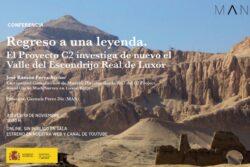 Conferencia: Regreso a una leyenda. El Proyecto C2 investiga de nuevo el Valle del Escondrijo Real de Luxor