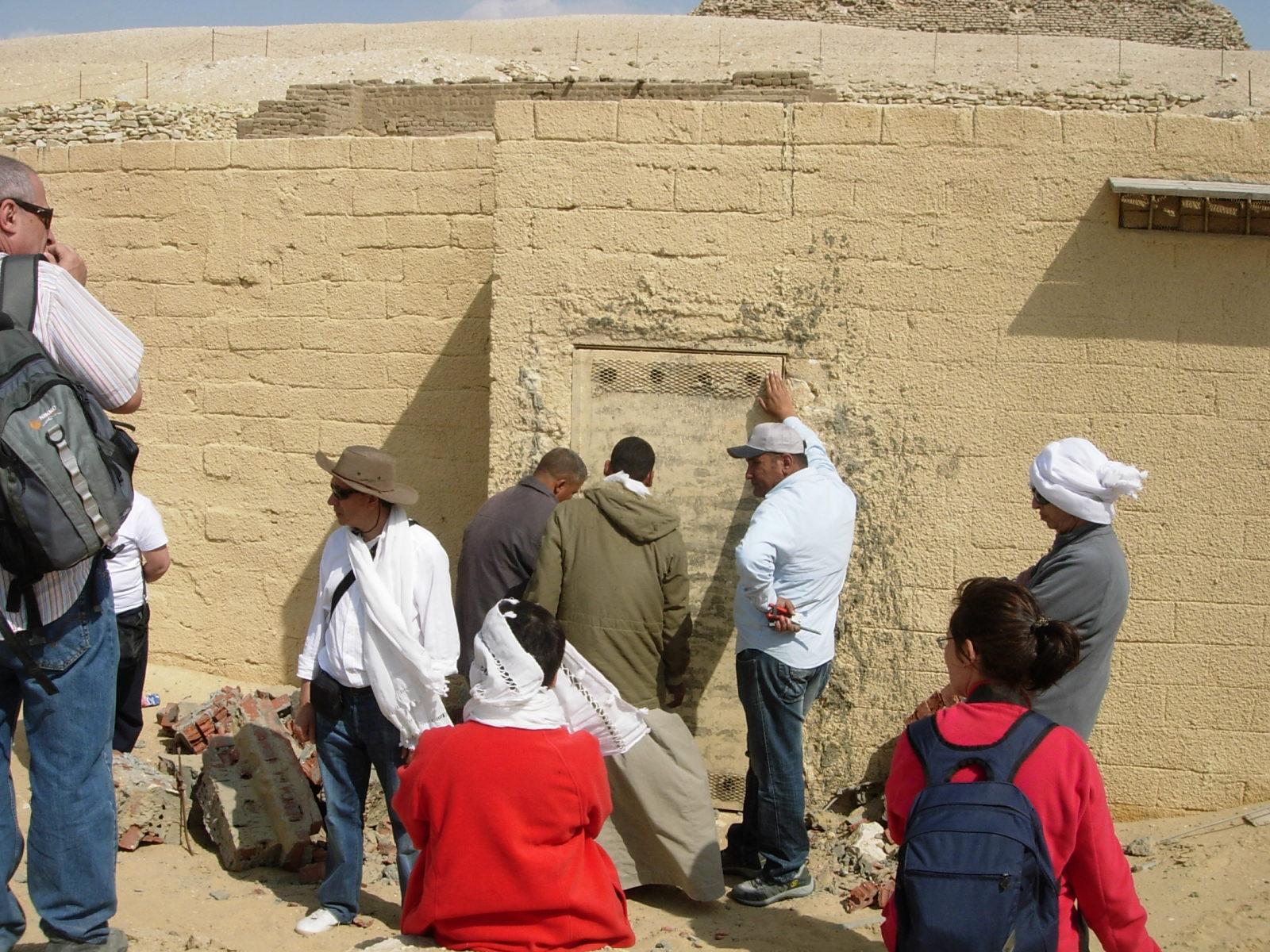 Saqqara tumba de Nebennebef 2010