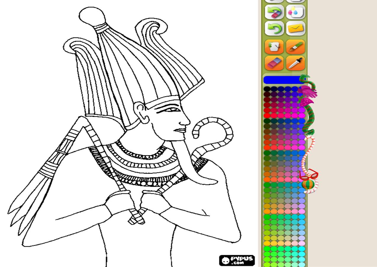 Dibujos En 3d Para Niños Web Del: Colorea Dibujos Y Hacer Puzzles Del Antiguo Egipto