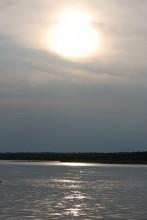Anochecer en el Nilo Blanco (Uganda)