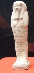 Ushebti de Horlraa reina de Apries_Saqqara din 26