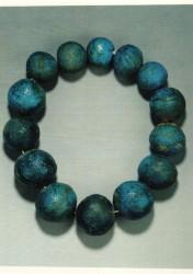 Collar Cuentas de cerámica de 2,6 a 3,3 cm de diámetro Kerma tumba 317 inv nº 3845 1650 a.C