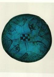 Cuenco Cerámica 4,2 cm 13,1 cm diámetro Aniba cementerio S din XVIII