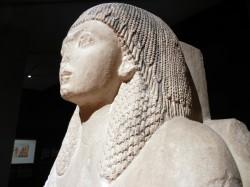 Estatua de Ptahmes_reinado RII_caliza_Saqqara