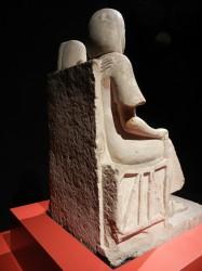 Estatua matrimonio_Saqqara_din 18_caliza
