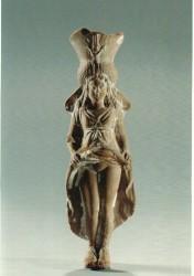 Figura Diosa Isis-Afrodita Arcilla cocida 14,6 cm inv nº 3634 procedencia desconocida siglo II a.C