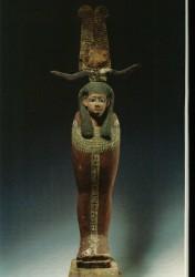 Figura de Ptha-Sokar-Osirismadera 59,5 cm inv nº1606 posiblemente de Hibe din XXV