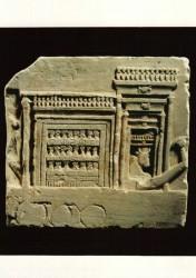 Fragmento relieve Toro Apis Caliza margosa Memphis inv nº 1830 Periodo Romano