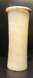 Jarron cilindrico Abu Rawas alabastro