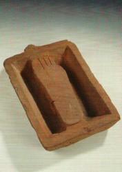 Lavapies ritual Arcilla cocida din II Abusir inv nº 2339