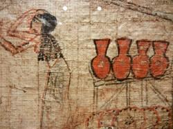 Libro de los muertos de Pakerer_Din 19_ Saqqara