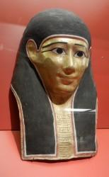 Mascara funeraria o de momia ptolemaica_proc desconocida_cartonaje