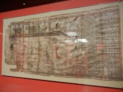 Papiro de Paser con la diosa Nut_Tebas_3er Per Inter