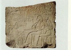 Relieve de Sen-en-resu Caliza 55 cm Memphis inv nº 5147 din XVIII