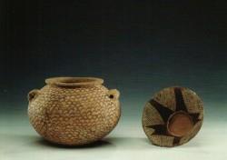 Vasijas Arcilla cocida inv nº 709 y 257 sobre 3200 a.C procedencia desconocida