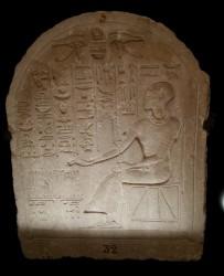 Estela sac Ptah Ptahmose din 19