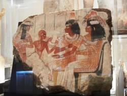 Pintura tumba Nebamun ep AIII Dra abu el Naga