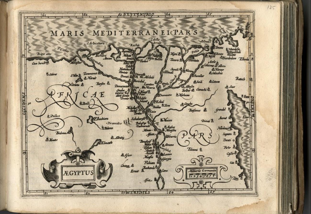 Mapas antiguos en alta resolución