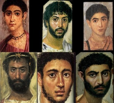 Egyptian Funerary portrait database