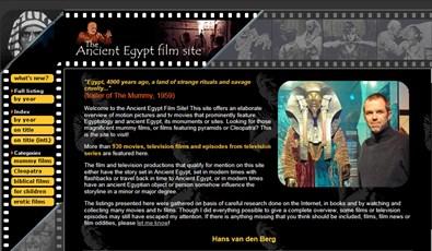 Egiptomanía: para los amantes del cine