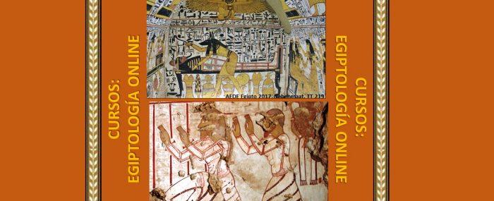 NOVEDAD: Conferencias de Egiptología Online impartidas en los cursos de AEDE