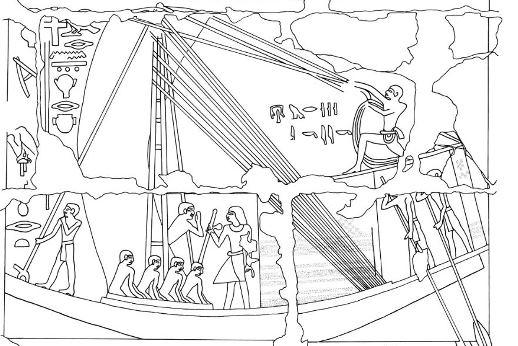 Bases de datos de la expedición Oxford: detalles de escenas en tumbas