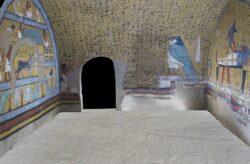 Paseo virtual por la tumba de Amennajt (TT218)