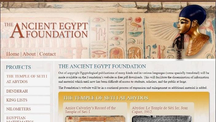PDF's en The Ancient Egypt Foundation