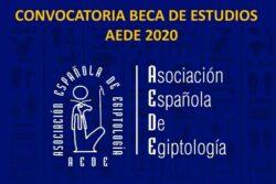 Convocatoria Beca de Estudios AEDE 2020