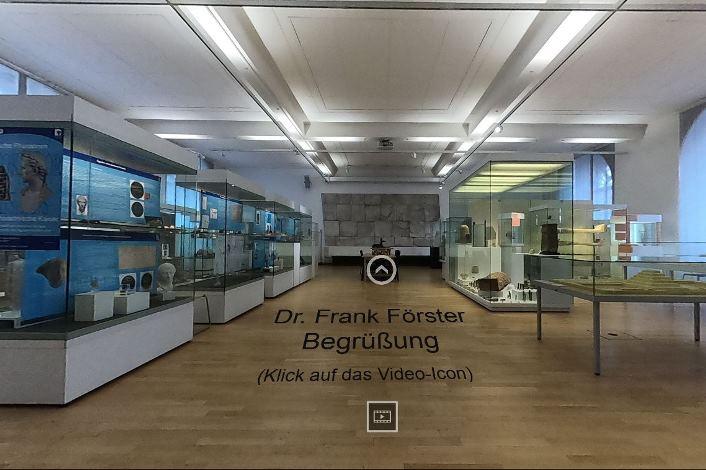 Paseo Virutal por el museo egipcio de la Universidad de Bonn
