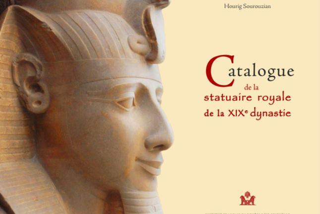 Catálogo de estatuas reales de la dinastía XIX. Hourig Sourouzian