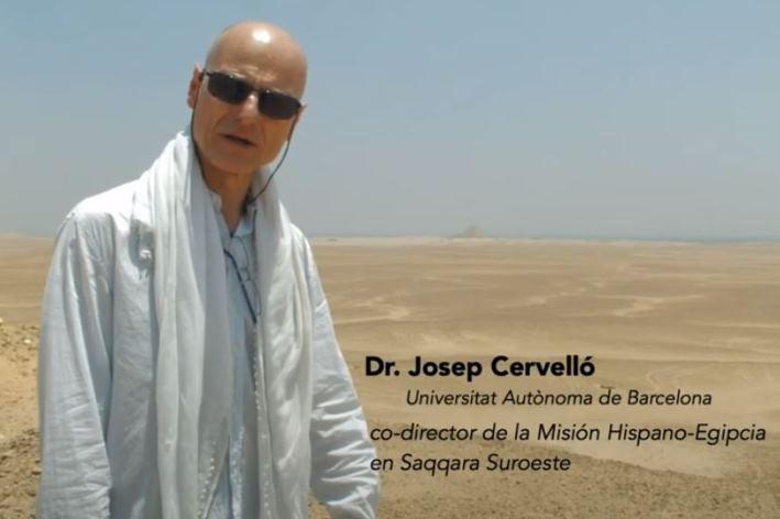 Masterclass 16: La misión Hispano- Egipcia de Saqqara