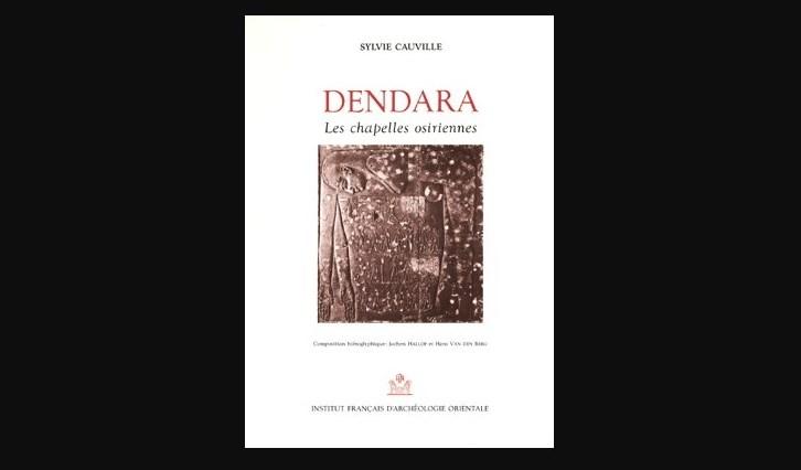 ACCESO A LECTURA LIBRE: Le temple de Dendara