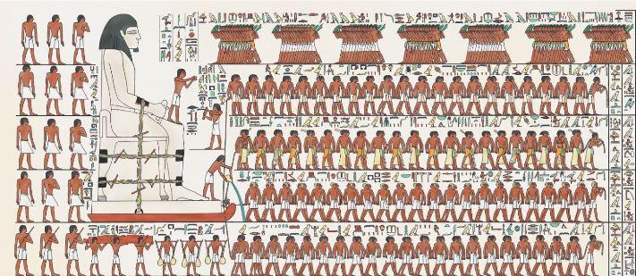 Pdf: La scène de traction du colosse de Djéhoutyhotep. Description,traduction et reconstitution