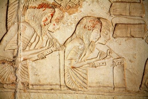 Tour virtual a la tumba de Horemheb en Saqqara