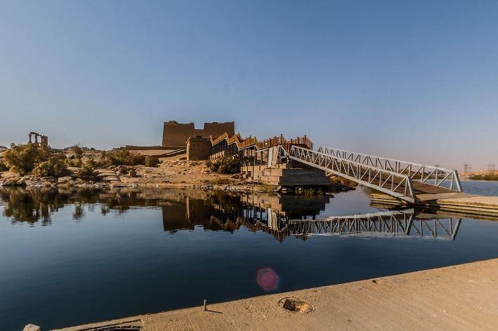 Describing Egypt: Paseo virtual por el templo de Mandulis en Kalabsha (Asuán)