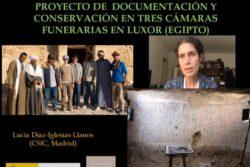 Masterclass: Las cámaras funerarias de Luxor