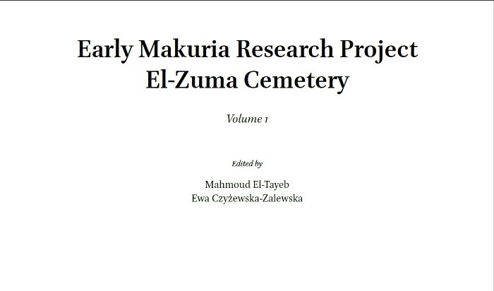Acceso libre: Early Makuria Research Project. El-Zuma Cemetery (3-vol. set). Leiden, The Netherlands: Brill