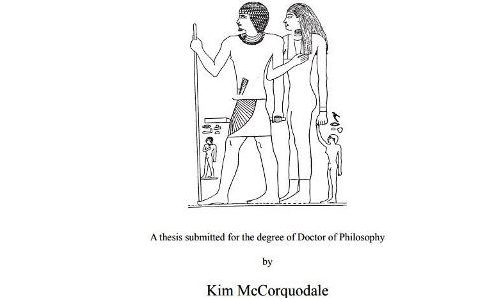 Tesis: Representations of the Family in the Old Kingdom. Women and Marriage