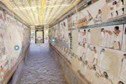 Paseo virtual por la tumba de Menna (TT69) en 3D