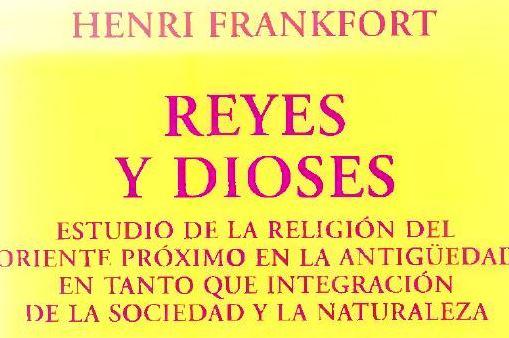 Pdf: Reyes y Dioses de Henri Frankfort