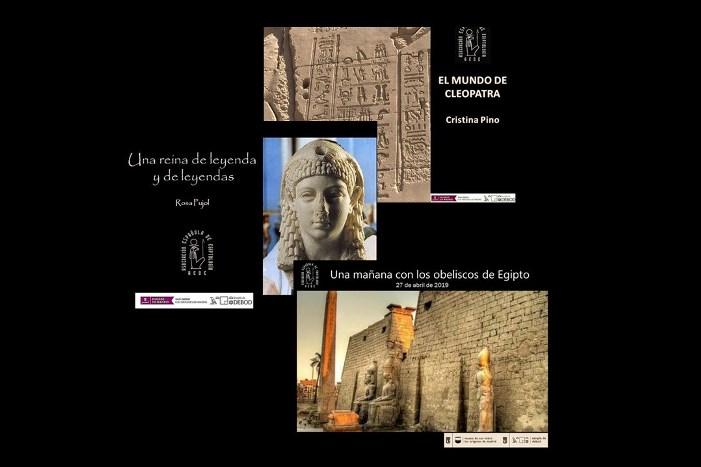 AEDE quédate en casa. Conferencias online gratuitas: Cleopatra, obeliscos y muchas más