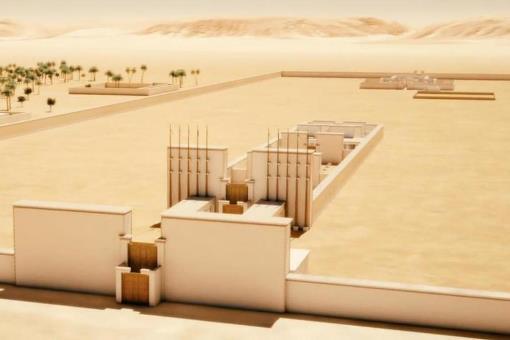 Archeovision reconstruye en 3D Amarna, la ciudad desaparecida de Akenatón