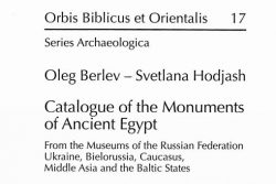 Pdf: Catalogue of the Monuments of Ancient Egypt: From the Museums of the Russian Federation, Ukraine, Bielorussia, Caucasus, Middle Asia and the Baltic States