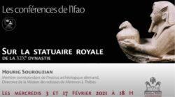 Vídeo conferencia de Hourig Sourouzian en el IFAO