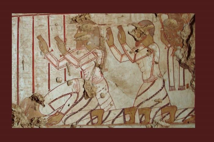 AEDE QUÉDATE EN CASA. CURSO ONLINE GRATUITO: Cuatro tumbas tebanas de la dinastía XVIII
