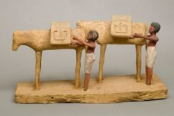 Tesis: Funerary models vs. wall scenes: a study of agricultural pursuits and food production to the end of the Middle Kingdom