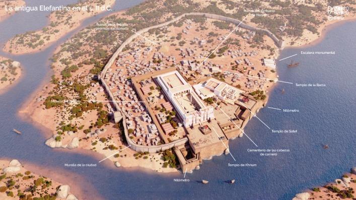 VIAJE VIRTUAL EN TIEMPOS DE PANDEMIA: LA RECREACIÓN EN 3D DE LA CIUDAD DE ELEFANTINA (EGIPTO) EN EL S. II D.C.